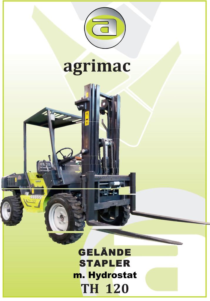 Geländestapler TH120 FIrma Agrimac